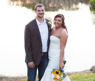 Pekin, Illinois Proven Ground Farm Wedding / Country Theme / Candis + Brandt