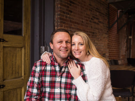 Kelly + Ryan // Engagement Session // Peoria, Illinois // Jacklyn Byrd Photography