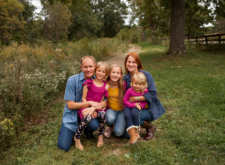"Family of 5 // The ""F"" Family // Jacklyn Byrd Photography"
