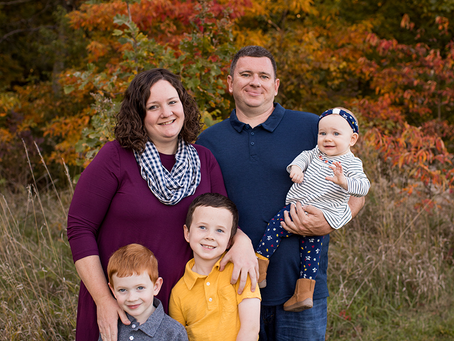 The G Family // Fall 2020 Session // Jacklyn Byrd Photography