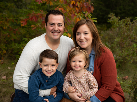 The O Family // Fall 2021 Family Session // Jacklyn Byrd Photography