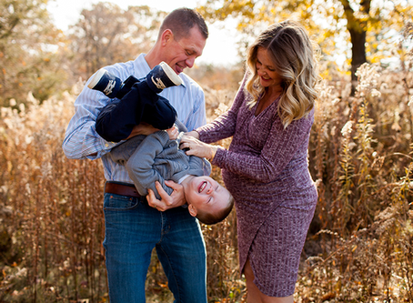 Fall Maternity Peoria Session // The S Family // Jacklyn Byrd Photography