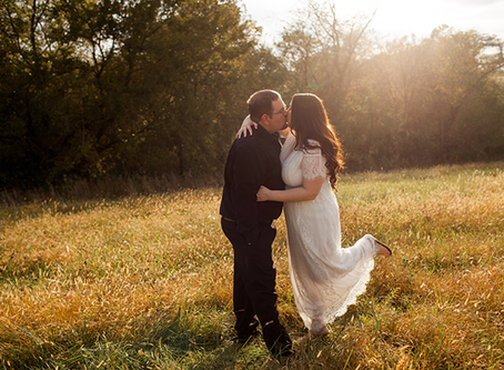 Central Illinois Engagement Session // Kalyn + Kyle // Jacklyn Byrd Photography