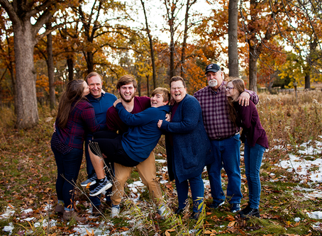 Fall Family Session // Peoria, Illinois // The A Family // Jacklyn Byrd Photography