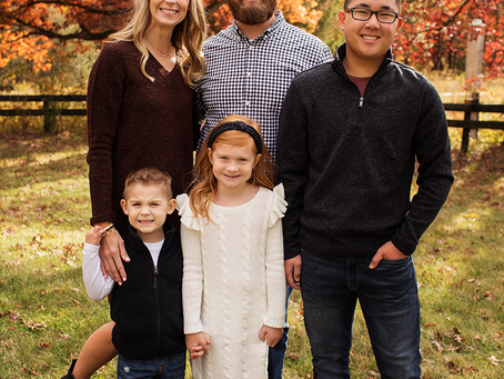 The G Family // Fall 2020 Sessions // Jacklyn Byrd Photography