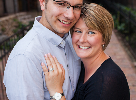 Peoria Engagement Session // Morgan + Phil // Jacklyn Byrd Photography