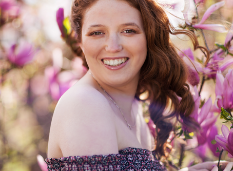 Senior Spring Session // East Peoria, Illinois // Taylor // Jacklyn Byrd Photography