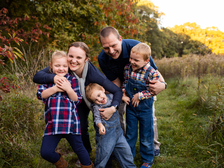 The F Family // Fall 2021 Family Session // Jacklyn Byrd Photography
