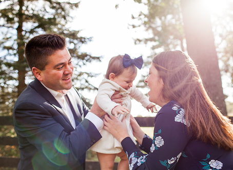 Baby 1 year old Session // Fall Family Session // Jacklyn Byrd Photography