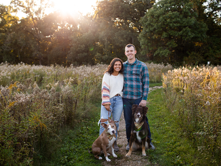 Tristan + Cody // Fall Couple Session // Jacklyn Byrd Photography