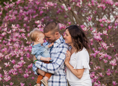 Baby 1 year old Photo Session // East Peoria, Illinois // Easton // Jacklyn Byrd Photography