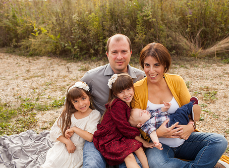 "Family of 5 Fall Session // The ""E"" Family // Jacklyn Byrd Photography"