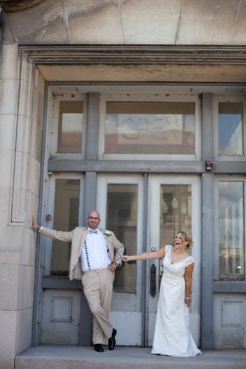 Cute Peoria Wedding Couple