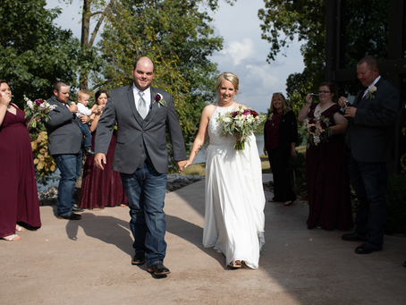 Katie + Andrew // Lakeview Weddings Camp Point, Illinois // Jacklyn Byrd Photography