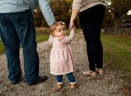 Fall Family Session // The M Family