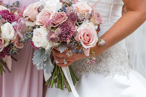 Fall Bridal Flowers in Central Illinois Photo by Jacklyn Byrd Photography
