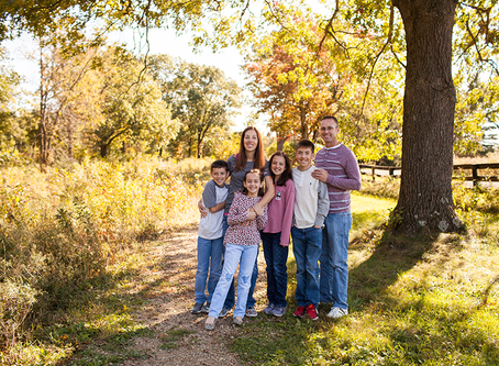 The M Family // Fall Family Session Peoria, Il // Jacklyn Byrd Photography