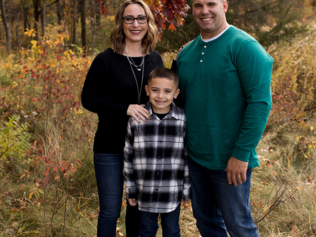 The M Family // Fall 2020 Session // Jacklyn Byrd Photography