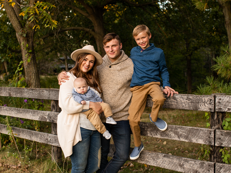 The R Family // Fall Family 2021 Session // Peoria, Illinois  // Jacklyn Byrd Photography