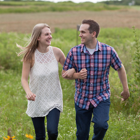 Engagement session in Illinois