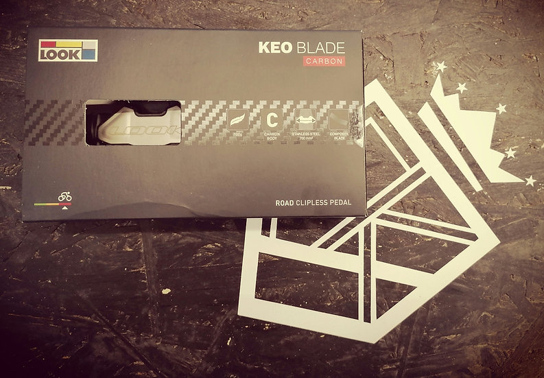 LOOK KEO Blade Pedale Carbon