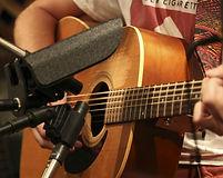 Guitar recording at Studio 770