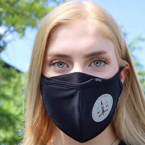 Masque / 'Droit Civil uOttawa' / noir