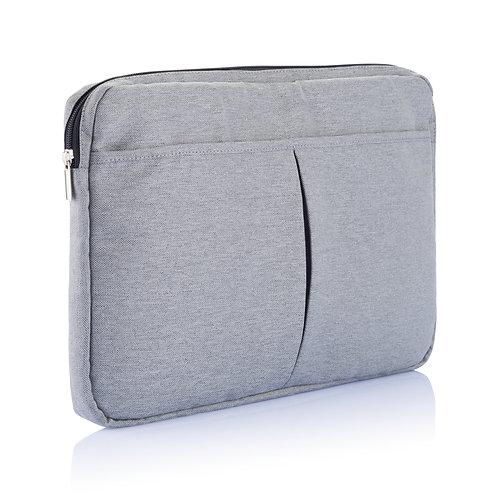 "Funda para portátil 15"" sin PVC gris"