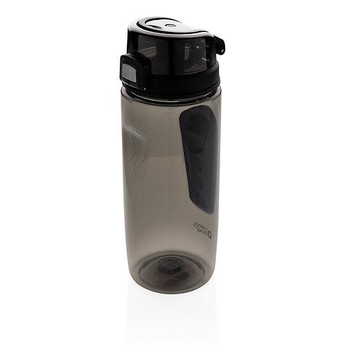 Botella lujosa Tritan deportiva negro, negro