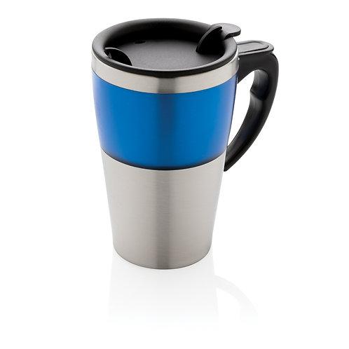 Taza Highland azul, plata