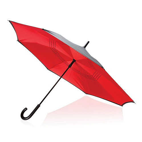 """Paraguas reversible 23"""" rojo"""