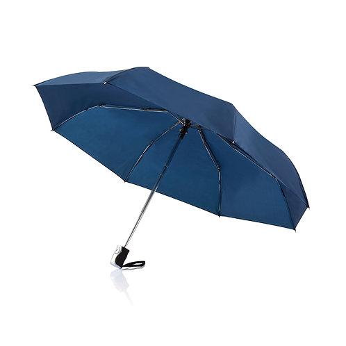 """Paraguas 21,5"""" automático 2 en 1 azul"""
