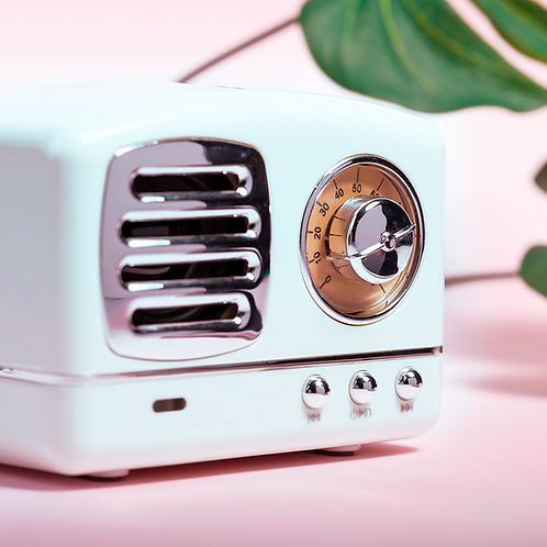 Altavoz Bluetooth vintage