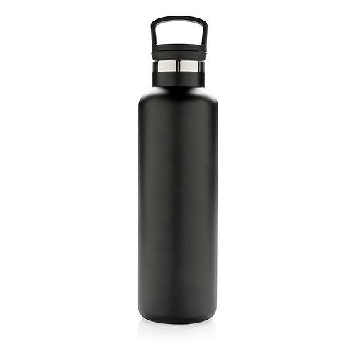 Botella antigoteo al vacío negro