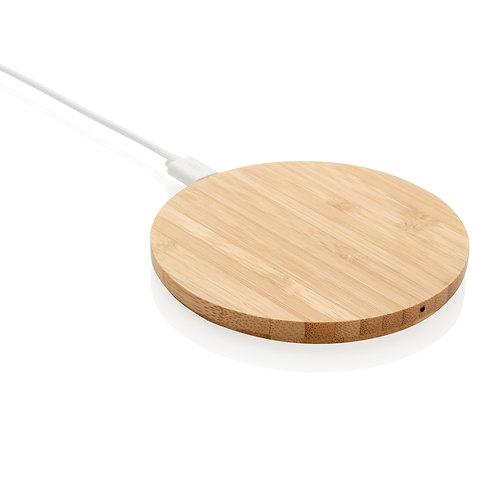 Cargador inalámbrico de bambú 5W