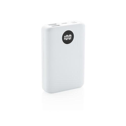 Batería externa de bolsillo de 10.000 mAh con entrada triple