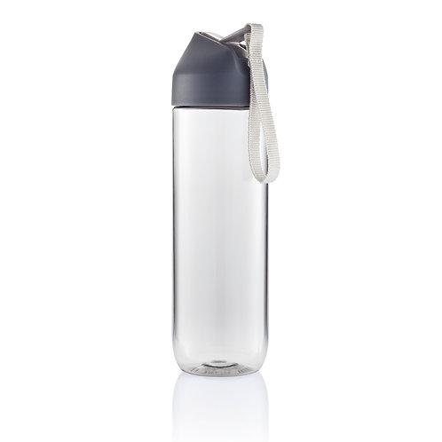 Botella de agua tritan antracita, gris