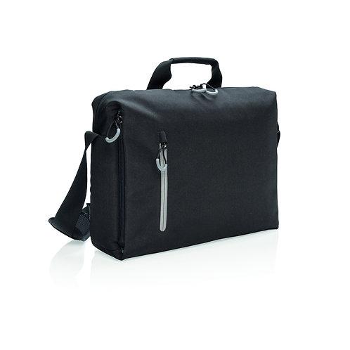 "Maletín para portátil 15.6"" RFID sin PVC negro, gris"