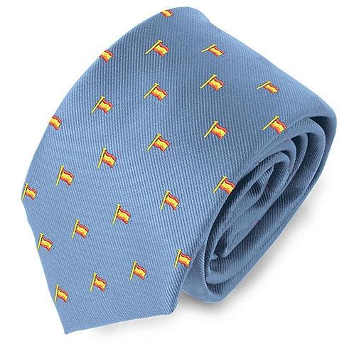 Corbata bandera mástil