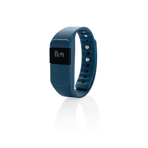 Monitor de actividad Keep fit azul