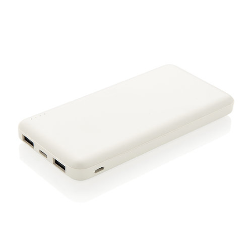 Batería extraíble 10.000 mAh de alta densidad blanco