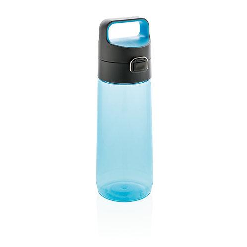 Botella tritan Hydrate antigoteo y con bloqueo azul, antracita