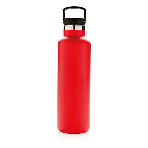 Botella antigoteo al vacío rojo