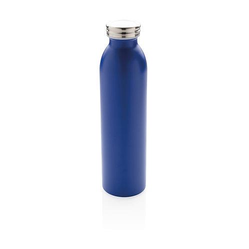 Botella aislante en cobre antigoteo azul