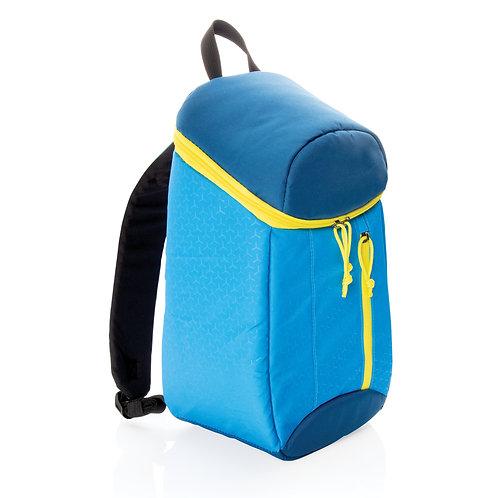 Mochila nevera de senderismo 10L azul, amarillo