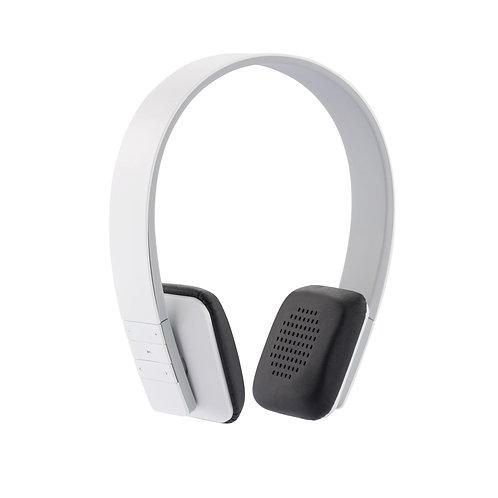 Auriculares inalámbricos estéreo blanco