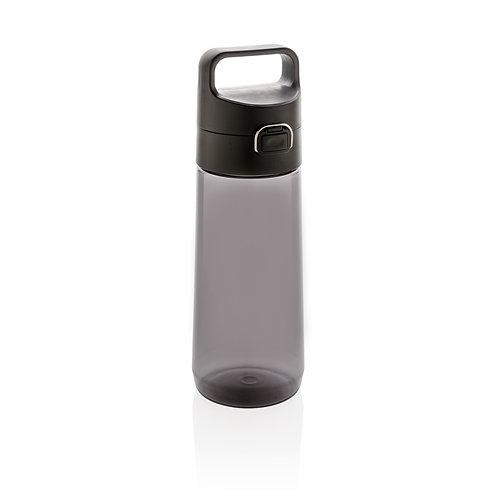 Botella tritan Hydrate antigoteo y con bloqueo negro, antracita
