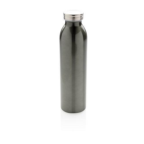 Botella aislante en cobre antigoteo gris