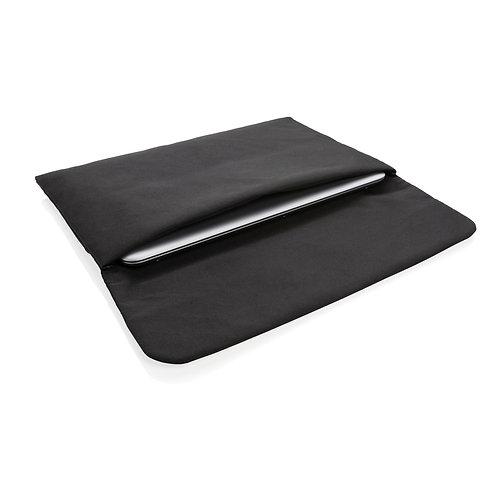 """Funda ordenador portátil 15.6"""" con cierre magnético sin PVC negro"""