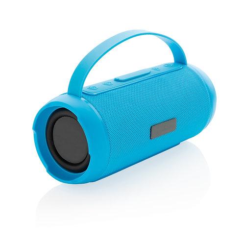 Altavoz inalámbrico 6W impermeable azul
